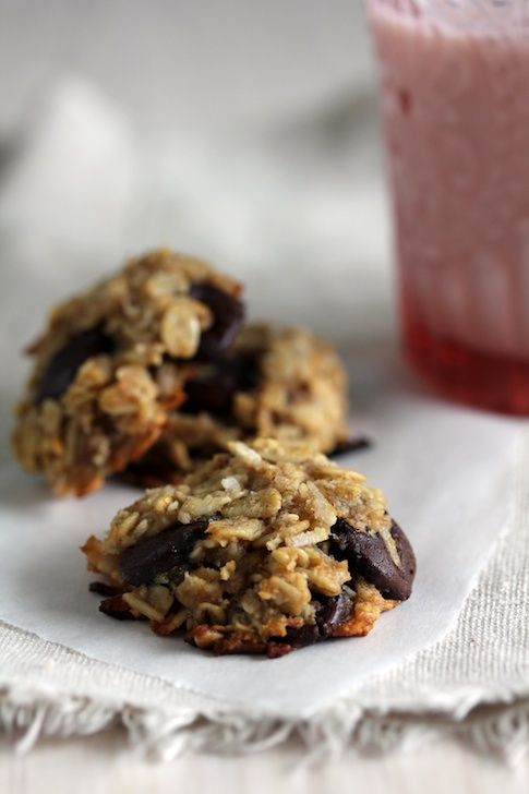 Oatmeal Banana Chip Cookies | ☆ Favorite Recipes | Pinterest