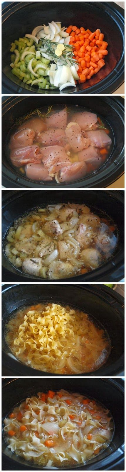 Crockpot Chicken Noodle Soup - Recipe Favorite