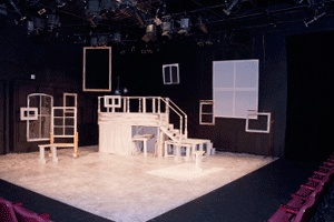 Arts Court Theatre - rental $168/day plus technicians and security hourly rates  - 130 theater seats plus reception area