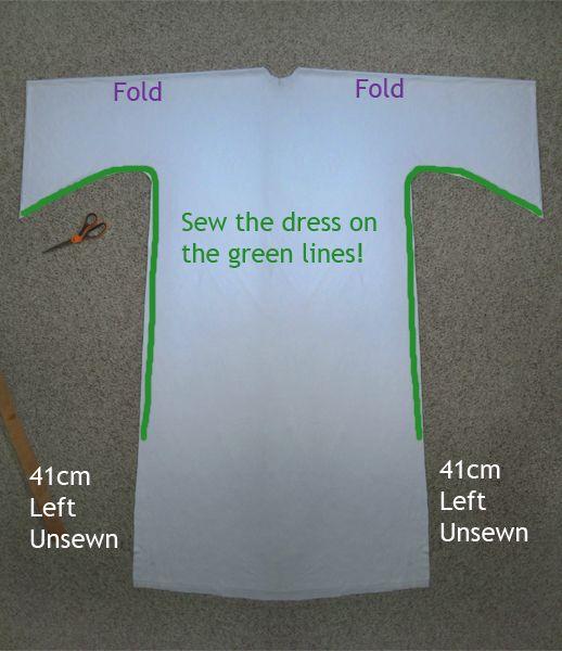 PAP Como compor o vestido da Princesa Leia / How to asemble Princess Leia's Dress DIY