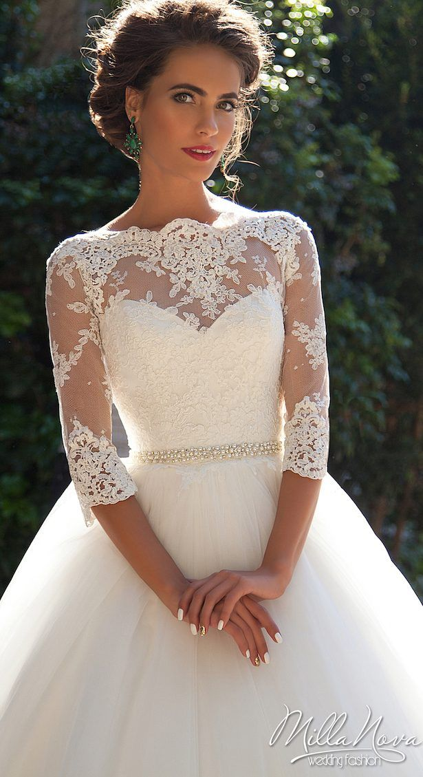 Winter Wedding Dress by Milla Nova 2016 Bridal Collection - Krista