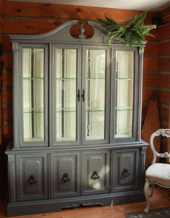 French Country China Cabinet Etsy Listing At Https://www.etsy.com