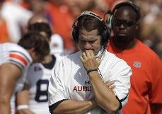 Gene Chizik fired as Auburn coach after 3-9 season, two years after BCS title - NCAAF - Sporting News   Chizik had three years left on a contract worth 3.5 million annually. The announcement came after a team meeting.