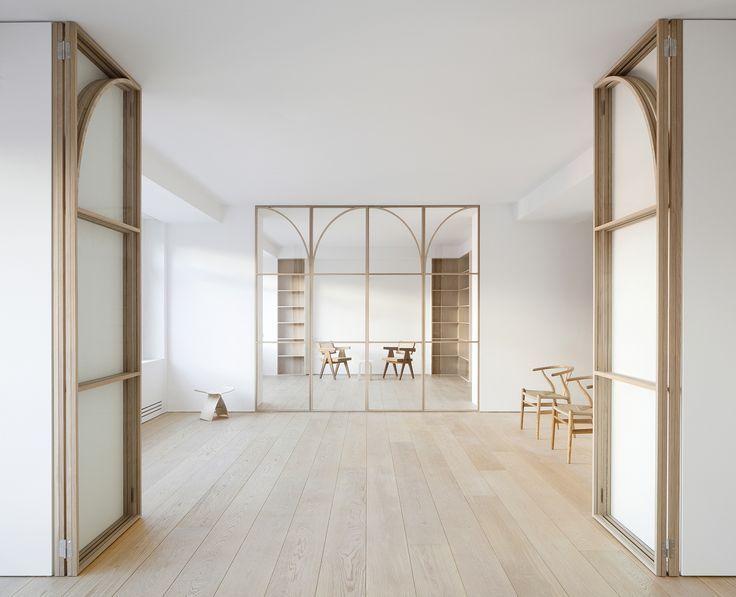U O House Minimalism Interior Architecture Office Interior