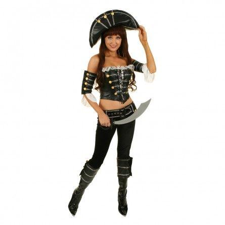 Womens Marauder Pirate Costume