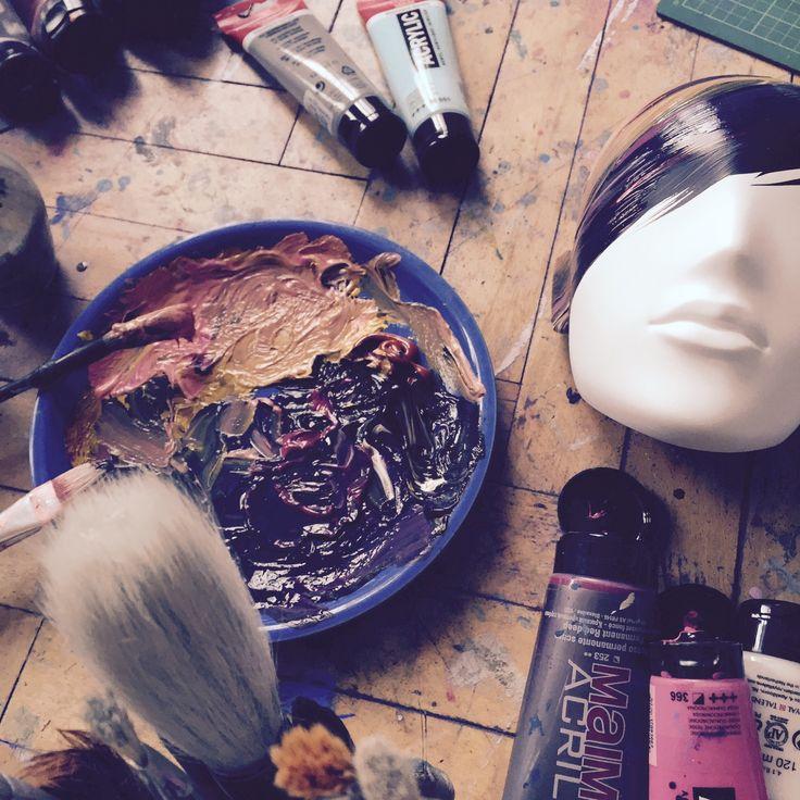 FUSION Collection by More Mannequins / work in progress #FemaleMannequins #mask #illustration #design #art #atelier