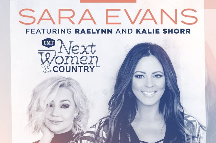 Sara Evans And CMT Next Women Of Country Hit The Road In February