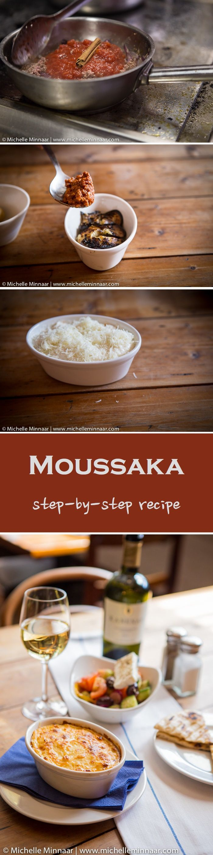 Learn How To Make The Real Greek's Moussaka. It's simple and you can make cute individual portions! (Gluten Free) I love Greek Food and this recipe is easy and delicious!~GF Cheryl~
