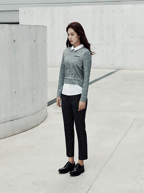 More Of Park Shin Hye & Sung Joon For Mind Bridge's F/W 2015 Campaign | Couch Kimchi