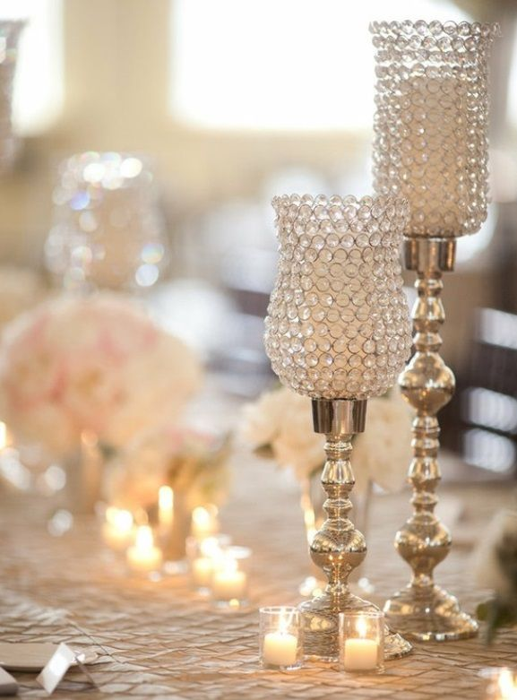 Wedding Candle Decorations Weddings Romantique