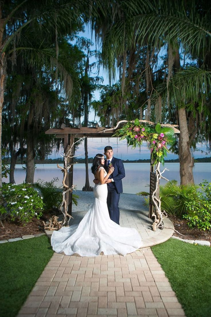 619 best ceremony settings images on pinterest weddings for Wedding dress rentals orlando fl