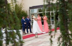 Real Life Wedding in our Gardens, Civil Ceremony