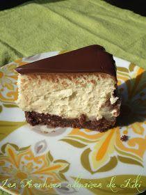 Faits avec amour /Les Aventures culinaires de Kiki: Gâteau au fromage à la crème irlandaise (Baileys) et au chocolat et 2 ans de blogue