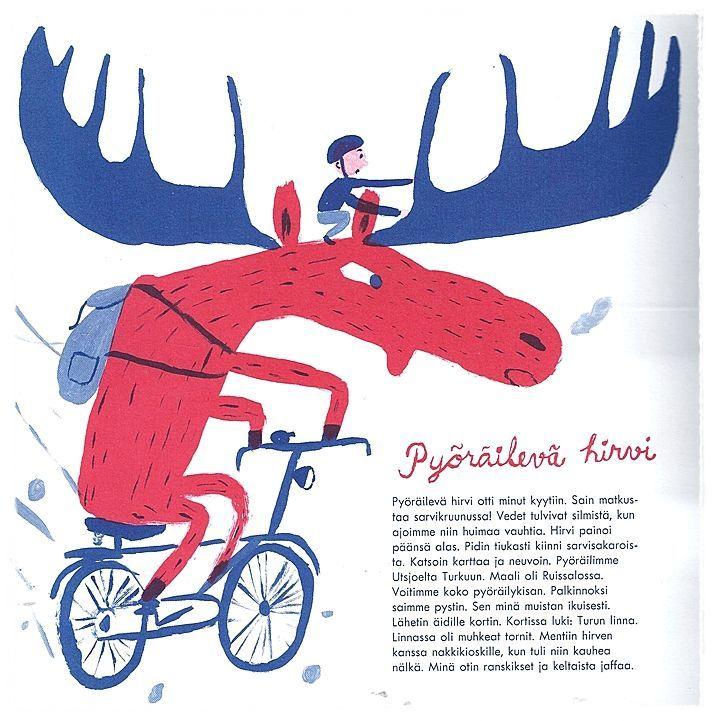 Children's book Makkara piruetti   illustrated by Matti Pikkujämsä