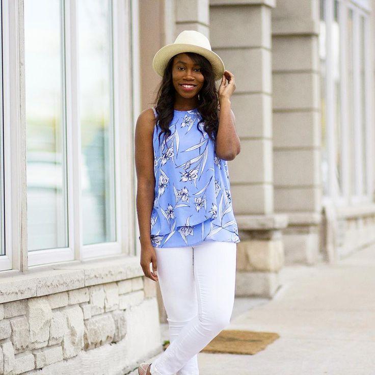 @smissjblog wearing Sears Bucket Hat at $13.99