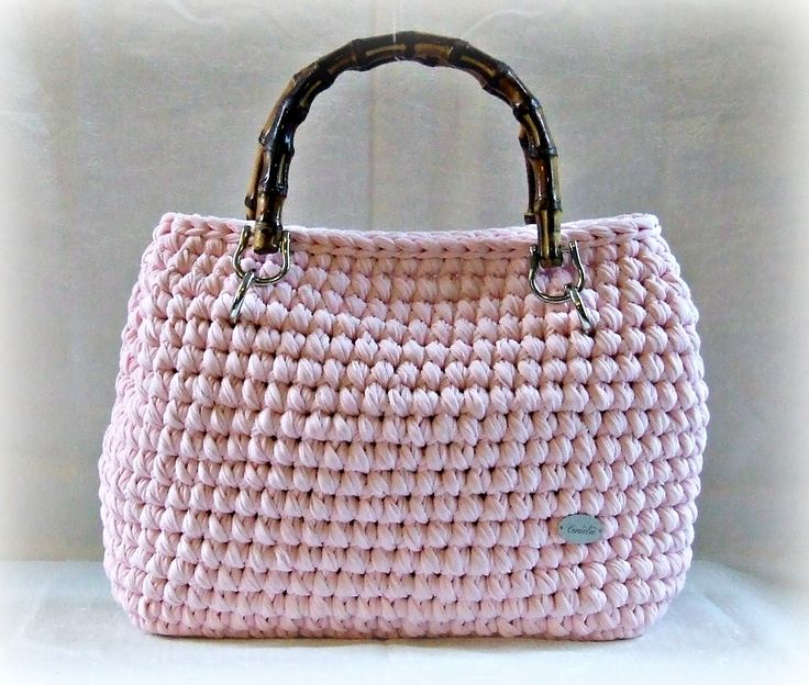 1000 images about trapillo on pinterest patrones for Bolso crochet trapillo