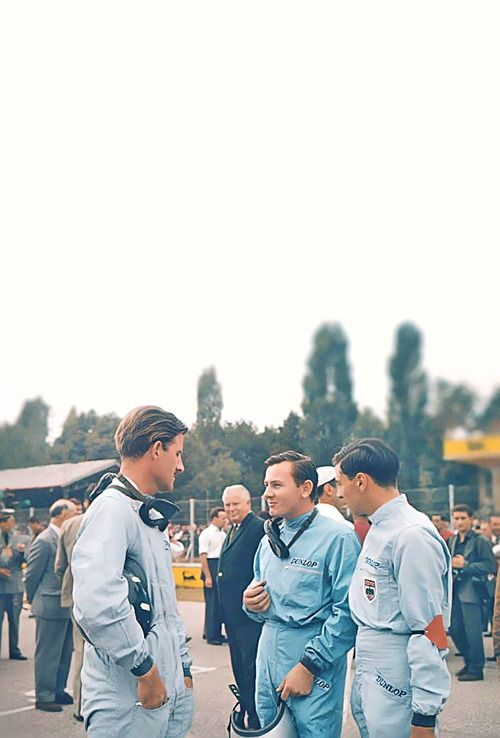 Hill, McLaren and Clark. gearheads and monkeywrenches