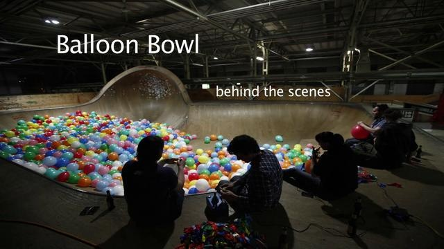 BALLOON BOWL - Behind the Scenes by http://kamerawerk.ch . A few impressions from our recent stereoscopic balloon extravaganza! What a fun project that was!