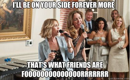 Bridesmaids. Cute movie