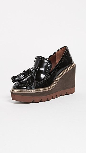 SEE BY CHLOE | Zina Wedge Loafers #Shoes #SEE BY CHLOE