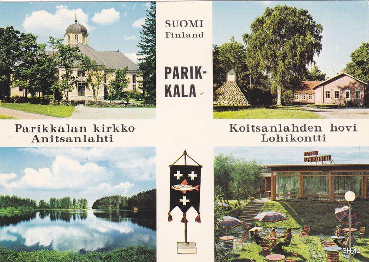 Kuva: PARIKKALA 1976.  Foto: Matti Poutvaara.