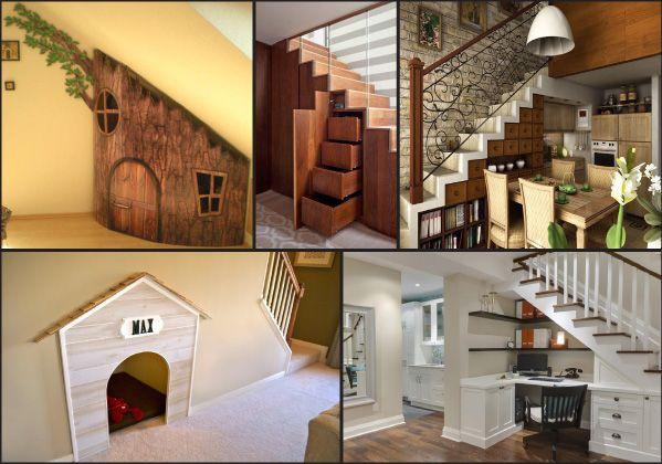 Muebles bajo escalera buscar con google salones - Escaleras para jardin ...