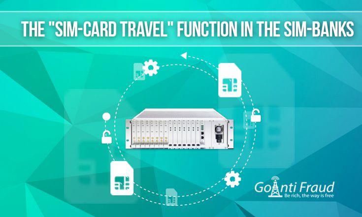 """Функция """"путешествие SIM-карты"""" в sim-банках   SIM-банк - это устройство, без которого трудно приземлять большие объемы трафика. Он обеспечивает централизованное хранение всех сим-карт, необходимых для GSM терминации, в одном конкретном месте. Когда часть карточек блокируется операторами сотовой связи, становится возможным быстро загрузить новые в шлюзы... read more =>https://goo.gl/UMcDBN"""