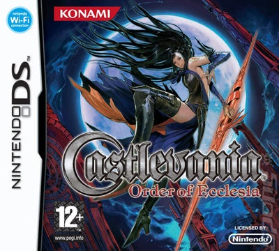 Castlevania DS box art