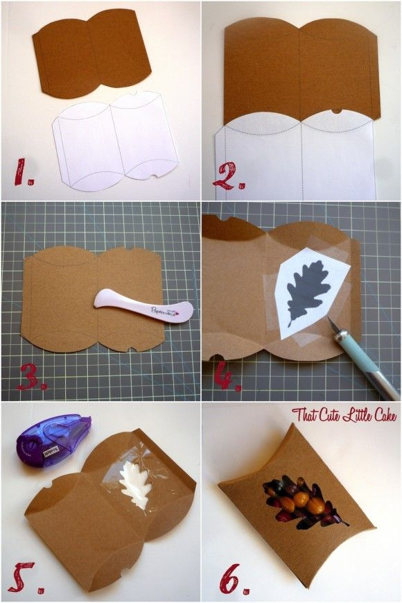 Thanksgiving Favor Box DIY   Catch My Party
