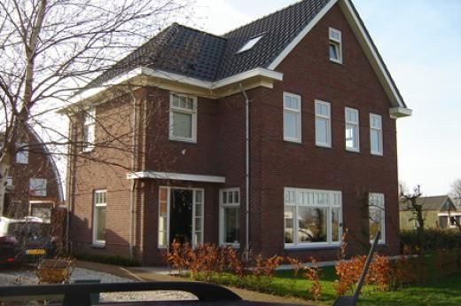Breithorn klassiek jaren 39 30 woning binnen buiten for Moderne aanbouw aan klassiek huis