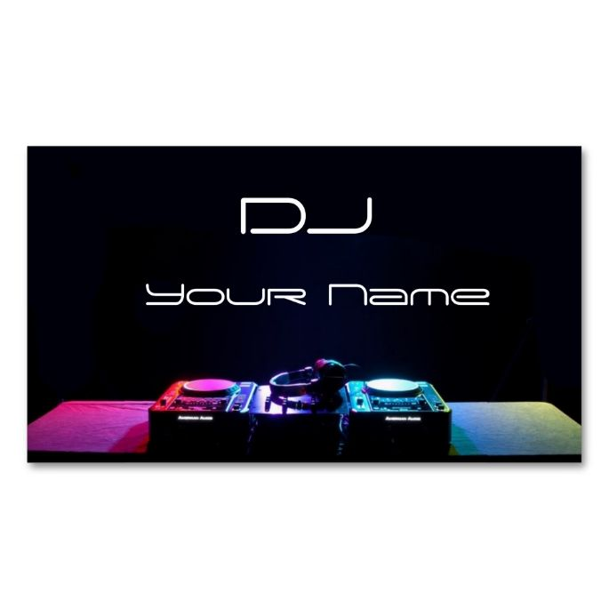 2151 best dj business cards images on pinterest card patterns dj business card reheart Gallery