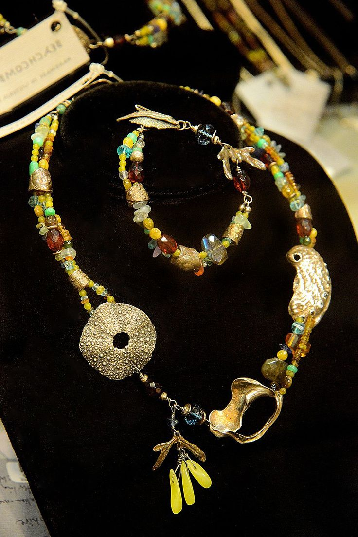 Necklace by Susan Ellenton - The Seed and Gift Store