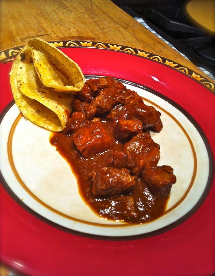 Puerco en Chile es muy delicioso y es un pocito caliente