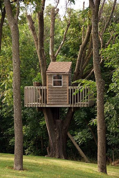 ¿Te imaginas una casita así para tus pequeños?