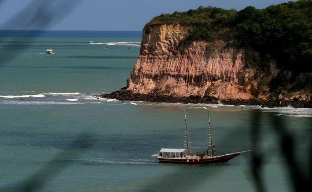 Praia da Pipa, no município de Tibau do Sul, no Rio Grande do Norte