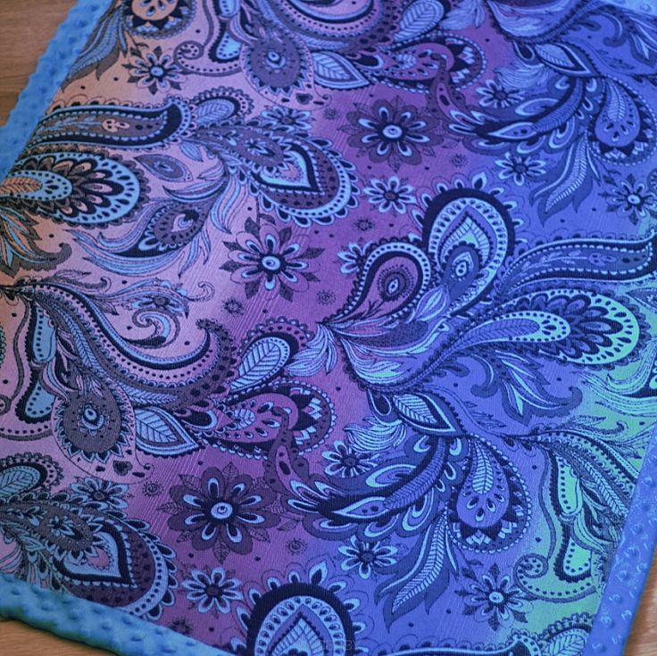 NatiBlanket Kaleidoscope Daydream Blue