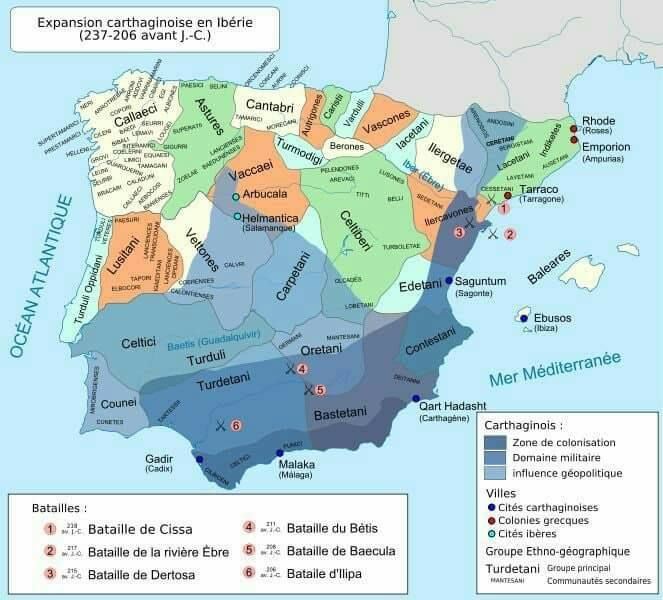 Carthaginian expansion in the Iberian peninsula