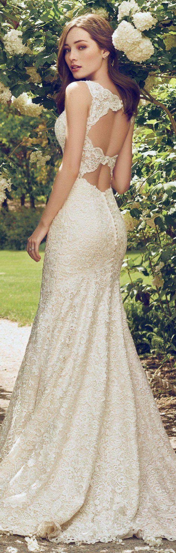 Best 25 open back wedding dress ideas on pinterest lace wedding wedding dress by rebecca ingram hope less than 1000 rebeccaingram rebeccabride junglespirit Images