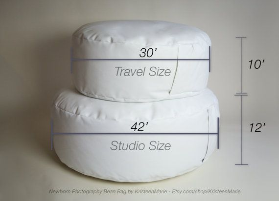 different sized beanbags used for newborn photography - newborn photography beanbag for sale