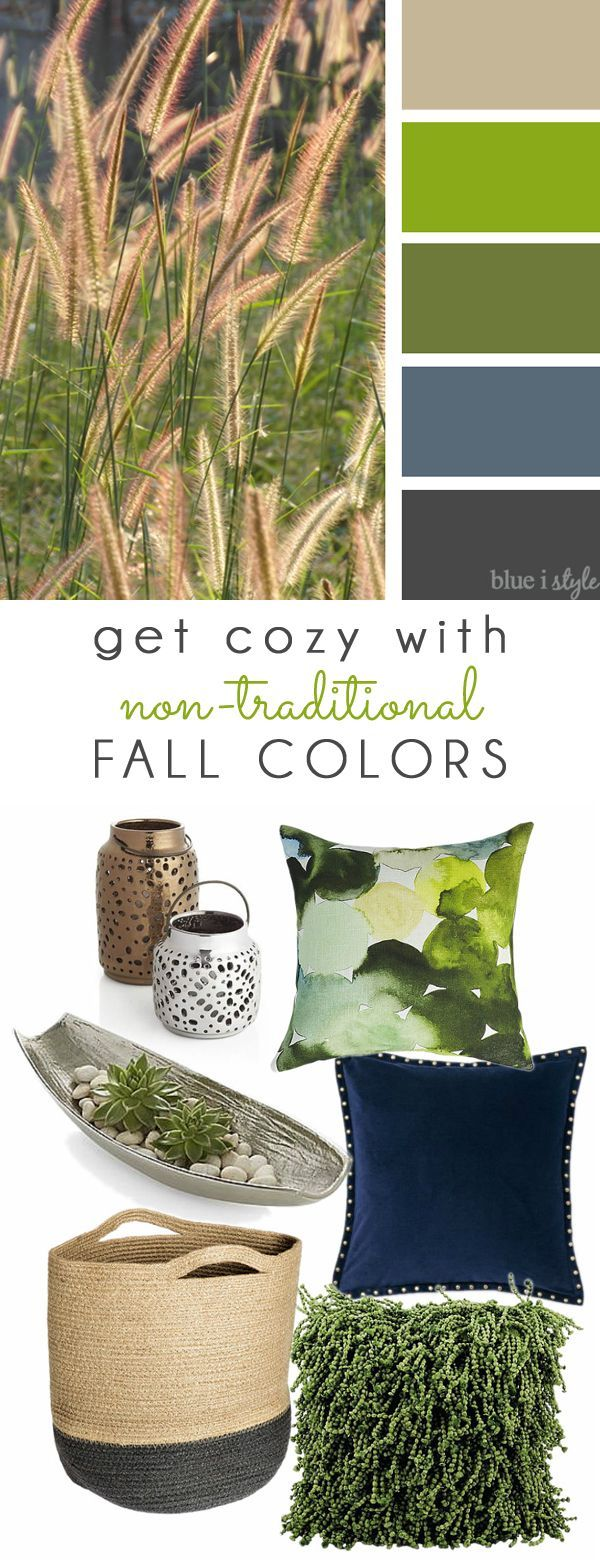 Get Cozy With Non Traditional Fall Colors Part 2