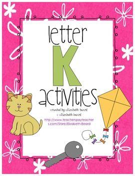 10+ images about Letter K Crafts on Pinterest | Preschool letters ...