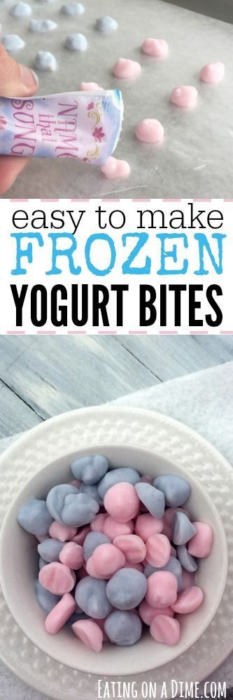 You have to make these Easy Frozen Yogurt Bites for your kids this Summer. In fact... get the kids involved. They will love making this treat to help them cool off.