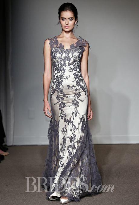 Grey Wedding Dress for Spring