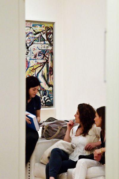 Contemplating Pollock