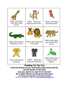 Wild About Reading Theme - Jungle or Rainforest resources