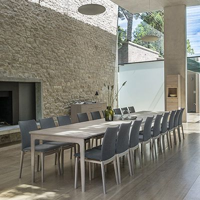 SKOVBY SM 27 DINING TABLE - seats 6-20 people