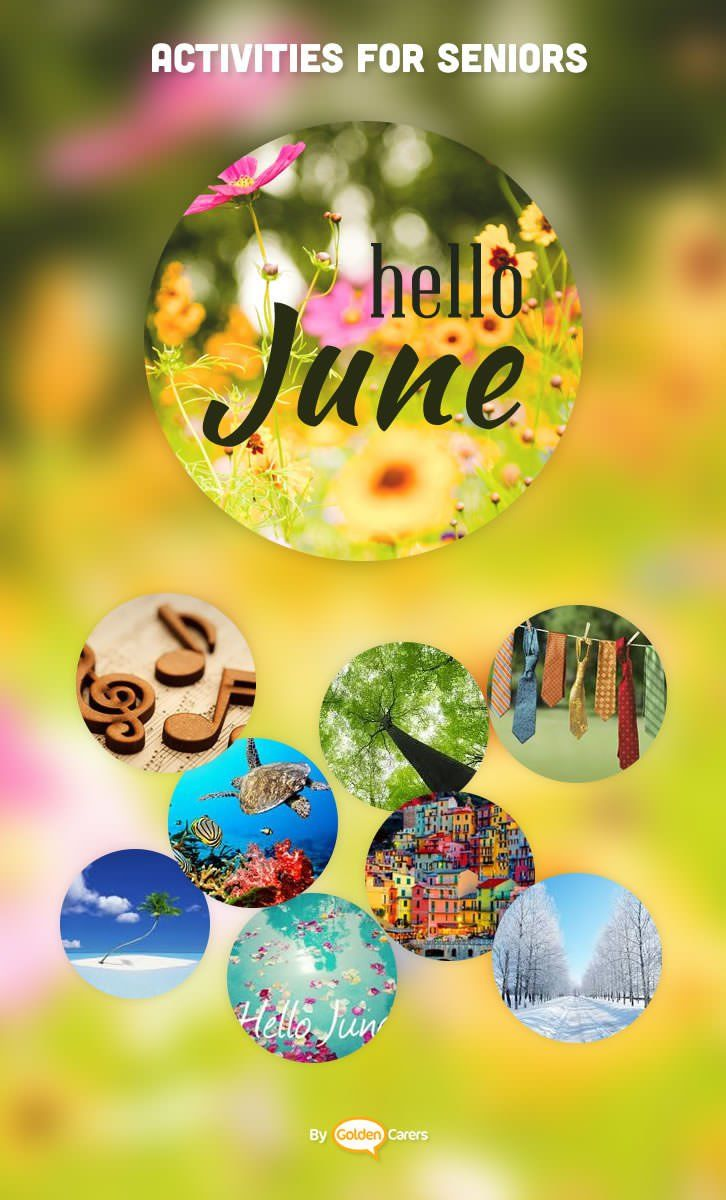 June Activity Calendar For The Elderly The Perfect Resource For Activity Coordinators Working In Nursing