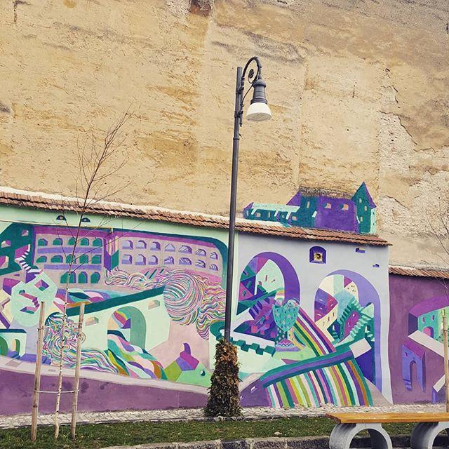 Wall #inspiration #traveling #painting #paintingwalls #city #brasov #art #andreatincu