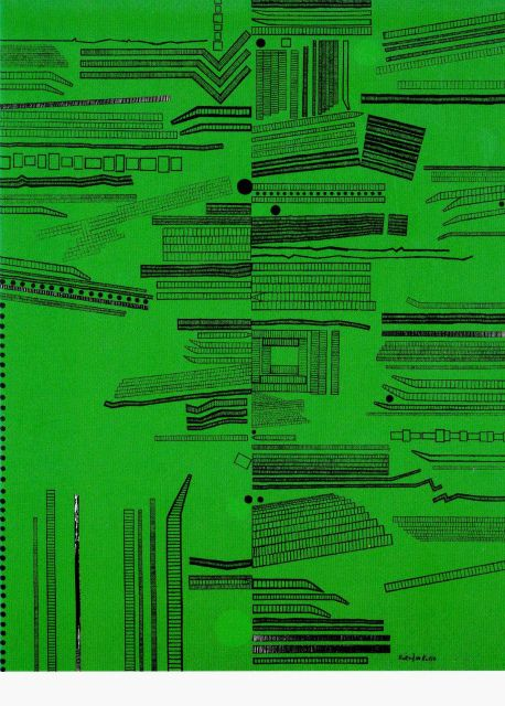 The City (Green No.4) 1968 Genichiro Inokuma