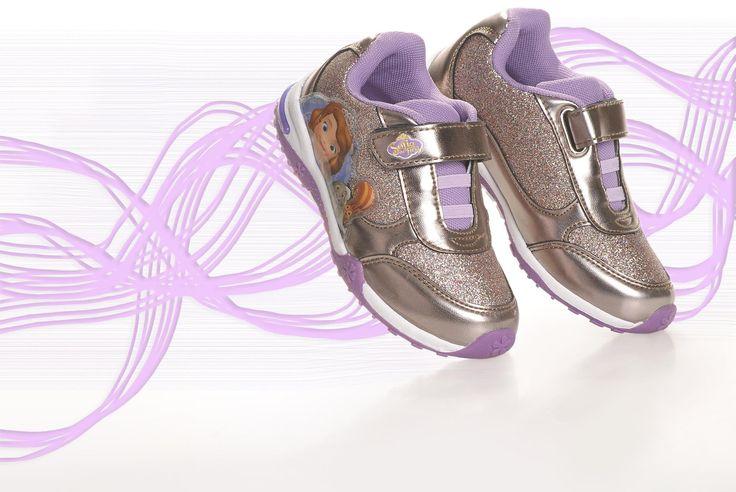 Κοριτσίστικα Sneakers Princess Sofia με φωτάκια !!
